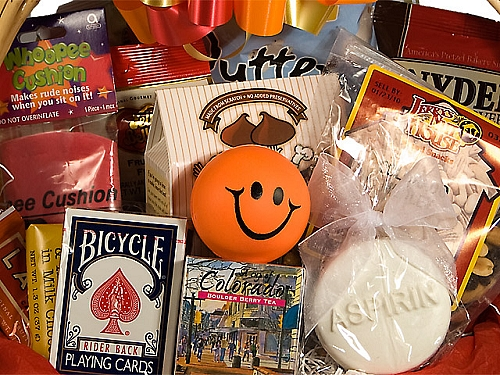 Two raffles for leprechauns and fools let 39 s plant a library for Unusual get well gifts